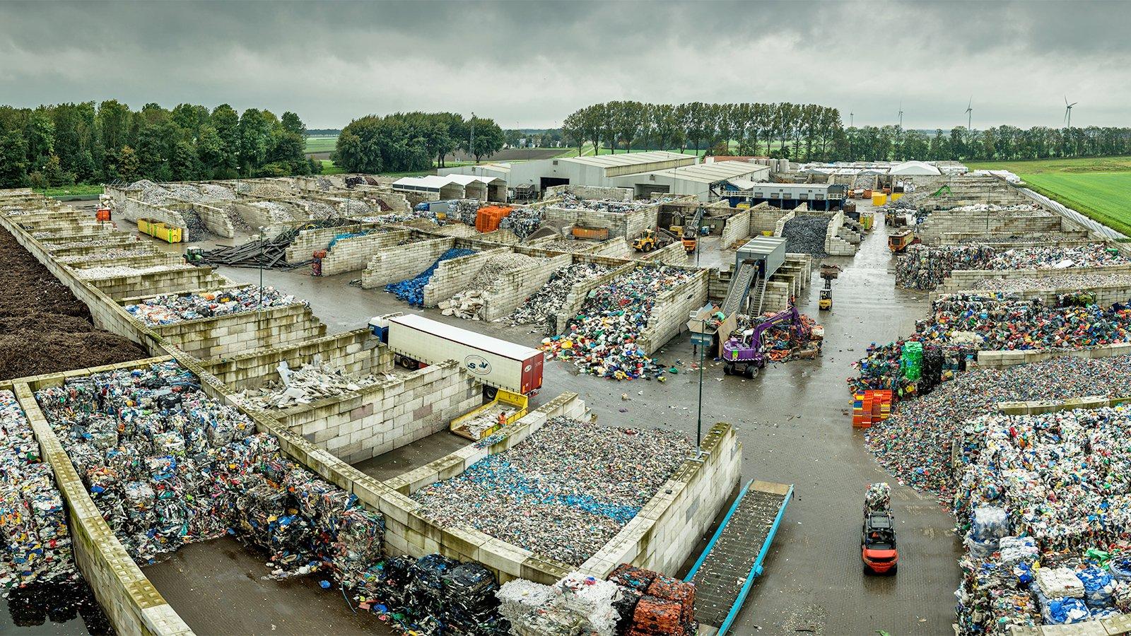 Plast som vi återvinner